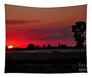 Country Sunset Tapestry