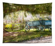 Country - The Old Wagon Out Back  Tapestry