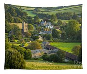 Country Village - England Tapestry