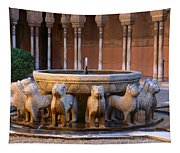 Court Of The Lions In The Alhambra Tapestry