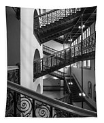 Courthouse Staircases Tapestry