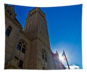Courthouse Tower Tapestry