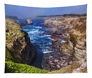 Cove On The Mendocino Coast Tapestry