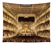 Covent Garden Theatre, From Microcosm Tapestry