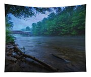 Covered Bridge  Tapestry