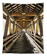 Covered Bridge Littleton New Hampshire Tapestry