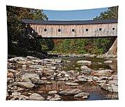 Covered Bridge Vermont 7 Tapestry