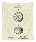 Covered Dish 1915 Patent Art Tapestry