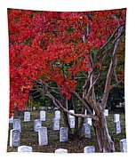 Covered In Fall Colors Tapestry