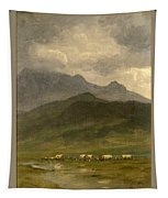 Covered Wagons Tapestry