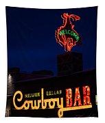 Cowboy Bar Tapestry