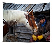 Cowboy Blues Tapestry