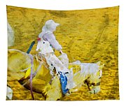 Cowboy View Tapestry