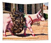 Cow Parade N Y C 2000 - Prima Cowlerina Tapestry