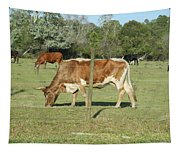 Cows Grazing Tapestry