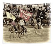 Cowtown Grand Entry Tapestry