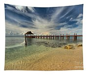 Cozumel Beach Paradise Tapestry