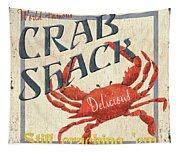 Crab Shack Tapestry
