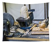 Craftsman Work Table Tapestry