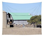 Craggy Old Barn Tapestry