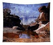 Cranky Rocks Tapestry