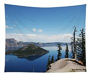 Crater Lake Oregon Tapestry