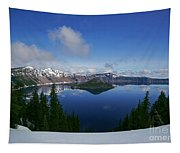 Crater Lake - Oregon Tapestry