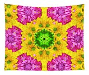 Crazy Daises - Spring Flowers - Bouquet - Gerber Daisy Wanna Be - Kaleidoscope 1 Tapestry