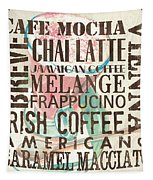 Cream Coffee Of The Day 1 Tapestry by Debbie DeWitt