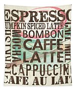 Cream Coffee Of The Day 2 Tapestry by Debbie DeWitt
