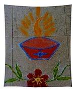 Creative Diya Rangoli Tapestry