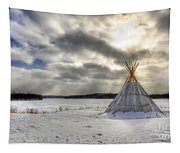 Cree Tepee Tapestry