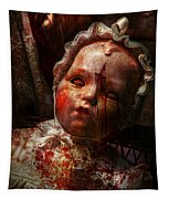 Creepy - Doll - It's Best To Let Them Sleep  Tapestry