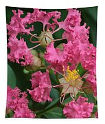 Crepe Myrtle Macro Tapestry