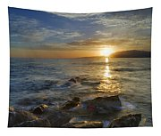 Crepuscular Rays At The Sea Tapestry