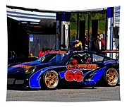 Crg 66 At Porsche Cup Tapestry