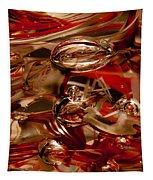 Crimson And Gray Glass Macro Ws2 Tapestry