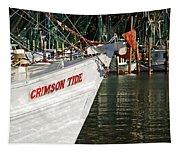 Crimson Tide Bow Tapestry