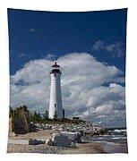 Crisp Point Lighthouse 15 Tapestry