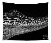 Crock's Look Black And White Tapestry