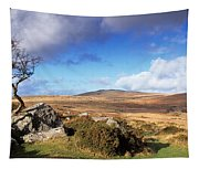 Crooked Tree At Feather Tor, Staple Tapestry