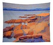 Cross' Coast Near Antibes Tapestry