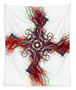 Cross Of Nature Tapestry