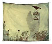 Cross Or Angel Tapestry