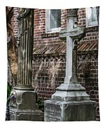 Cross Tombstone Tapestry