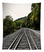 Crossing Tracks Tapestry