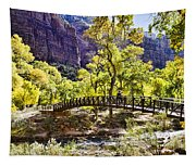 Crossover The Bridge - Zion Tapestry