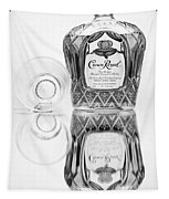 Crown Royal Black And White Tapestry