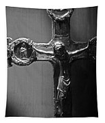 Crucifix Illuminated Tapestry