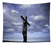 Crucifix In The Light Tapestry